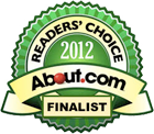 2012 About.com Readers Choice Finalist